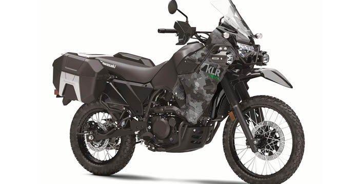 Penampakan Kawasaki KLR650 2022, Motor Adventure Legendaris Kawasaki
